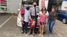 IMAGE: 'God sent us an angel:' Trooper buys tires, lunch for family stranded on highway