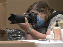 Wake County photographer capturing moments of volunteerism during pandemic