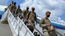 IMAGE: More than 120 NC National Guard soldiers return home from Middle East
