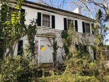 Historic Joseph and Lee M. Lazarus house on Hillcrest in Sanford, NC. Photo courtesy of RantNC