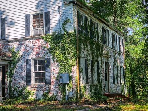 Historic Joseph and Lee M. Lazarus house on Hillcrest in Sanford, NC.