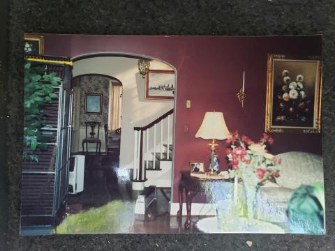 A glimpse back in time: Inside the Lazarus and Lee House during its prime.