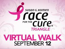Race for the Cure Triangle, Sept. 12