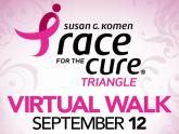 IMAGES: Komen Race for the Cure becomes 'race where you are' fundraiser, virtual event
