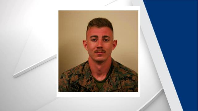 Lance Cpl. Jonathon Hornsby, 20. Photo from Atlantic Beach PD