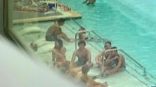 IMAGES: Overcrowded pool at off-campus student housing near UNC raises concerns about a safe semester
