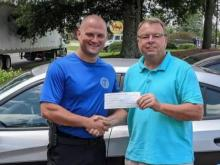 Donors raise $1000 for NC trooper who bought tires for stranded family - but he donates to charity