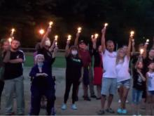 Vigil held to remember life of Cannon Hinnant