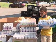 Durham church feeds families during pandemic