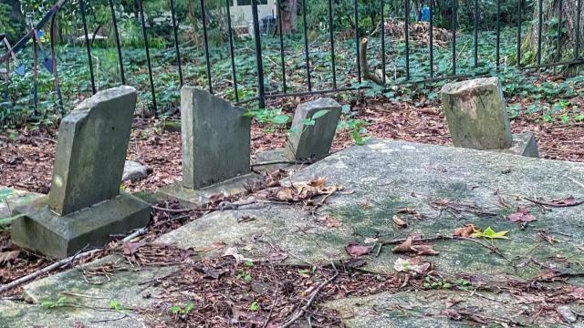The little Lewis Family cemetery is tucked away in a major Cary neighborhood.