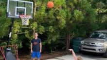 IMAGE: 'Just make it:' Chapel Hill 7-year-old hits 102 free throws in a row
