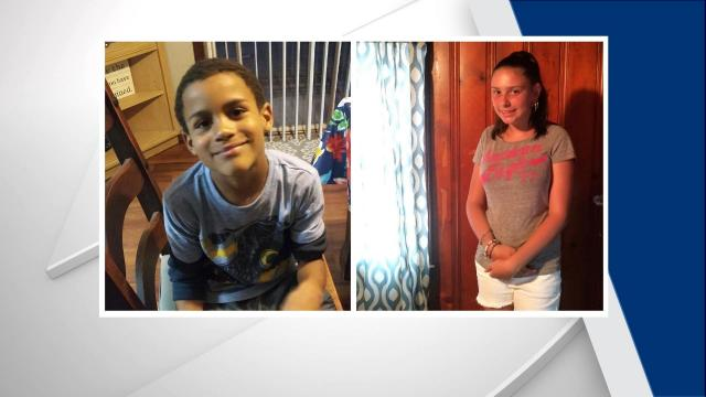 Trynatee Byrd, 12, and her younger brother,Izaiah Hargett, 8, were last seen walking together around 6 p.m. along Powell Street.