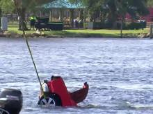 Dodge Charger pulled from Cape Fear River, two people found dead inside