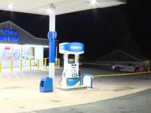 Several shots fired at Durham gas station