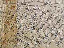 A historic map of Hayes-Barton