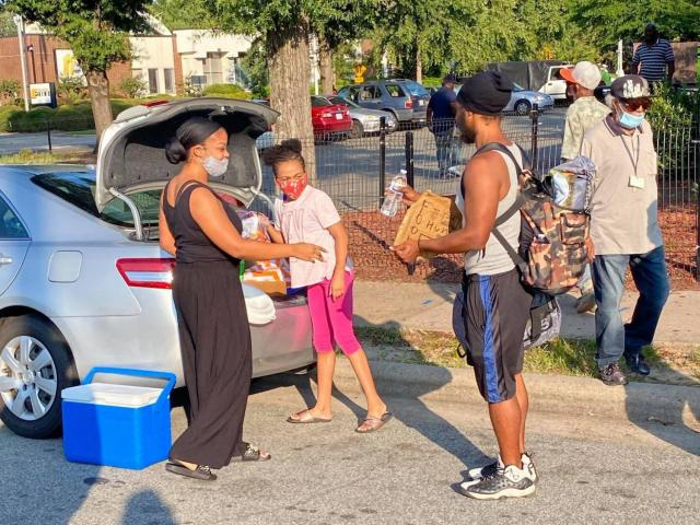11-year-old Addyson Hamer has put together boxes and snacks for nearly 500 people in-need at the Urban Ministries.