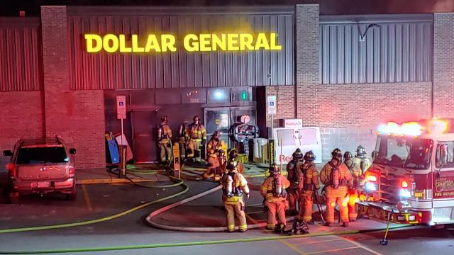 The Dollar General on Ramsey St. in Fayetteville was ruled a total loss after it caught fire on Sunday.
