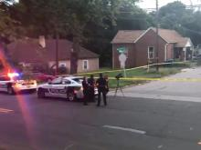 Durham police at scene of triple drive-by shooting