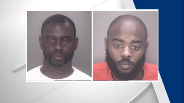 Ismul Hines and Kenneth McCoy (Robeson County Sheriff's Office photos)