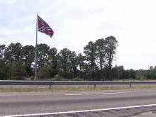 Confederate flag gone from I-95