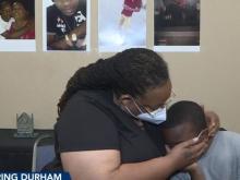 Durham mother demands end to gun violence