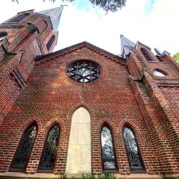 Calvary Episcopal Church in Tarboro has North Carolina's version of a 'secret garden,' enclosed in a gothic-style churchyard, cloaked in ivy, with century-old trees from across the globe.