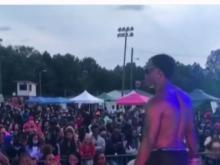 Large gathering held over weekend at Raleigh area youth center