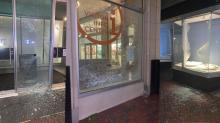 IMAGES: Photos show smashed windows, damaged windows in Durham