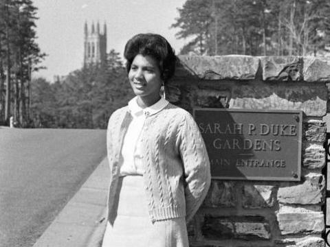 For the first time history, Duke University names building after a Black woman: Wilhelmina Reuben-Cooke.
