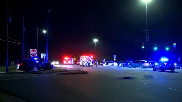Chase leads to crash in Raleigh