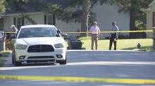 IMAGES: Rocky Mount police shoot domestic violence suspect after he pointed gun at officers