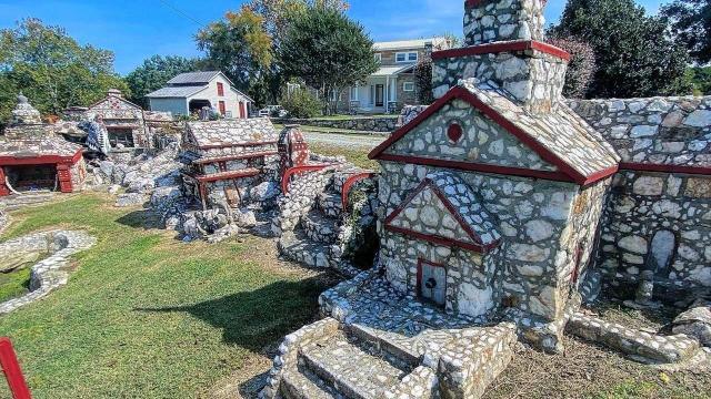 Shangri-la stone village in Prospect Hill, NC.