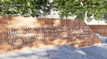 IMAGE: REGINALD HILDEBRAND: N.C. Freedom Park will 'let it shine'