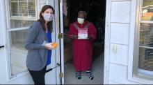 IMAGES:  Meals on Wheels delivers 1,300 activity books to senior citizens