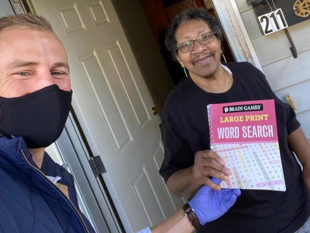 Meals on Wheels delivers 1,300 activity books to senior ...