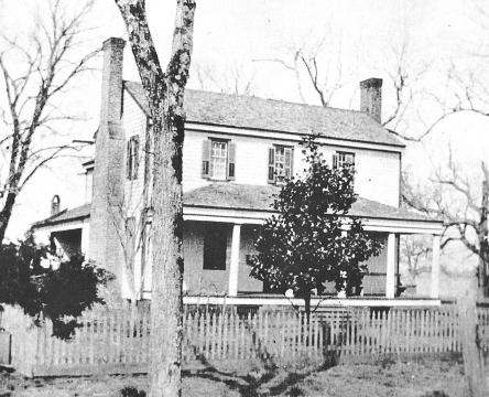 Nathaniel Jones' historic home stood in Cary until the 1950s.