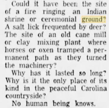 """""""No human being knows,"""" says newspaper from 1950s."""
