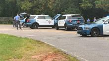 IMAGES: Person finds dead body in creek alongside hiking trail near downtown Raleigh