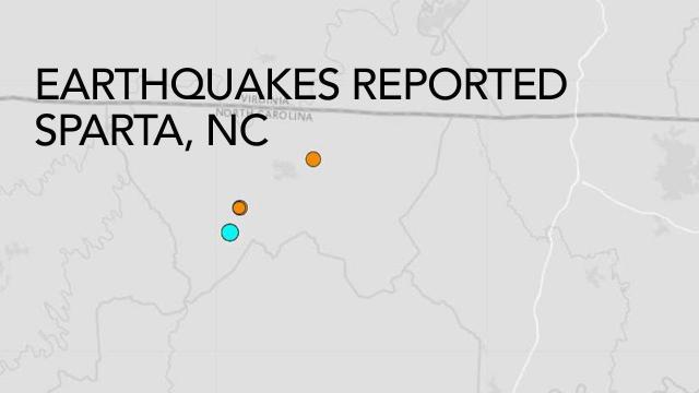 US Geological Survey: 7 earthquakes reported in Alleghany County in 24 hours