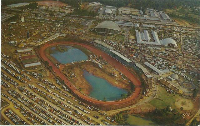 The N.C. State Fair's modern location. Courtesy of the State Archives of North Carolina