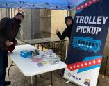 IMAGES: Trolley to the Polls: Great Raleigh Trolley, NAACP team up to wheel voters to the polls