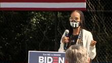 IMAGES: Actor Kerry Washington, husband part of early-voting event in Durham