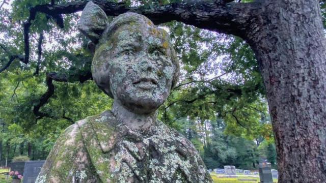 Mary Yarborough's grave