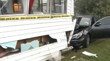 IMAGE: Car crashes into Clayton home