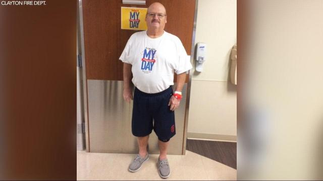 Clayton firefighter recovers from COVID-19