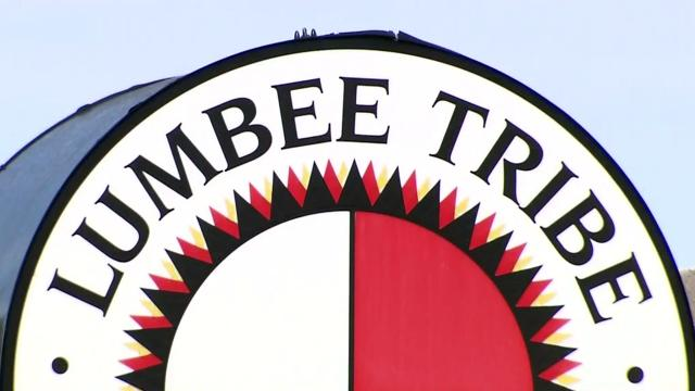 Lumbee tribe sign