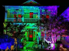 Amazing Halloween house in Holly Springs.