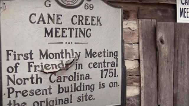 An important piece of North Carolina colonial history and remnant from the Underground Railroad is decaying in Snow Camp.