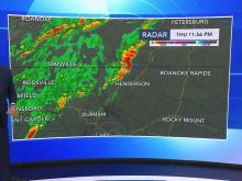 Second system bringing severe weather to parts of NC