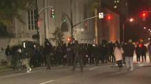 IMAGES: The protests will continue: Protester from NC BORN speaks out about election night protests